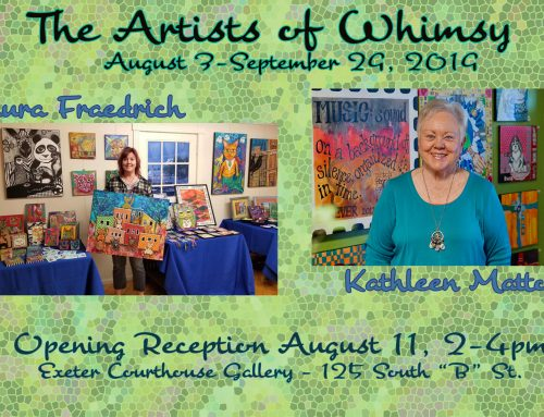 Show at the Exeter Courthouse Gallery in August & September!
